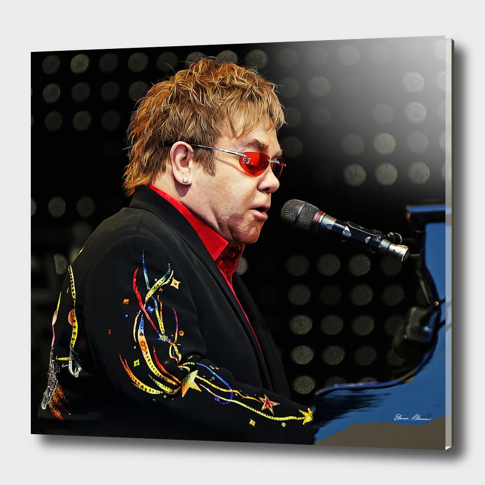 Sir Elton John at the Piano