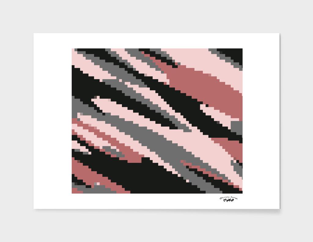 Pink Glitch Camo