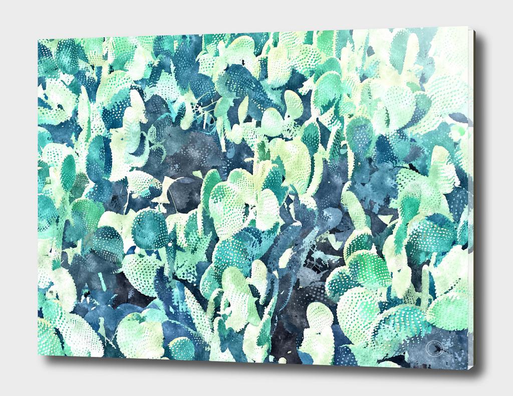 Watercolor Cactus V3