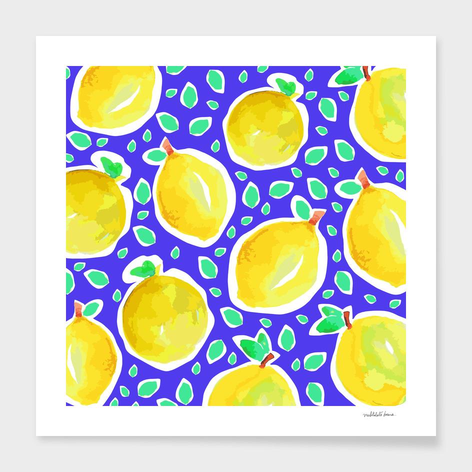 Lemon Crush ( blue )
