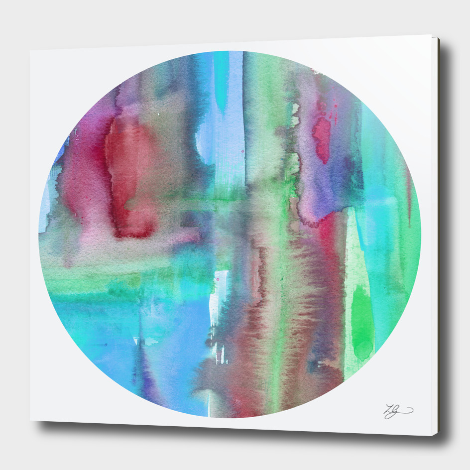 Curioos Exclusive Watercolour Abstract