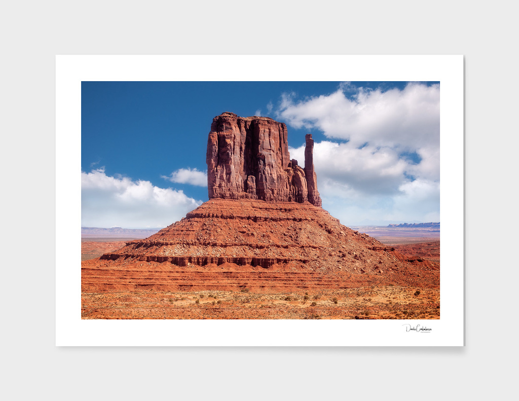 East Mitten Butte in Monument Valley, Utah, USA.