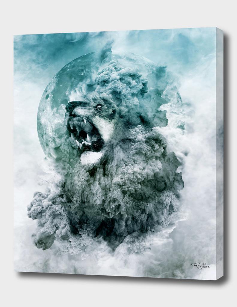 Lion Blue