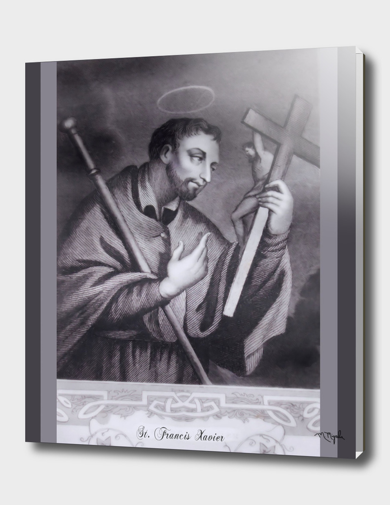St. Francis Xavier Engraving