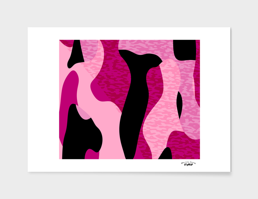 Pink and Black Camo 2