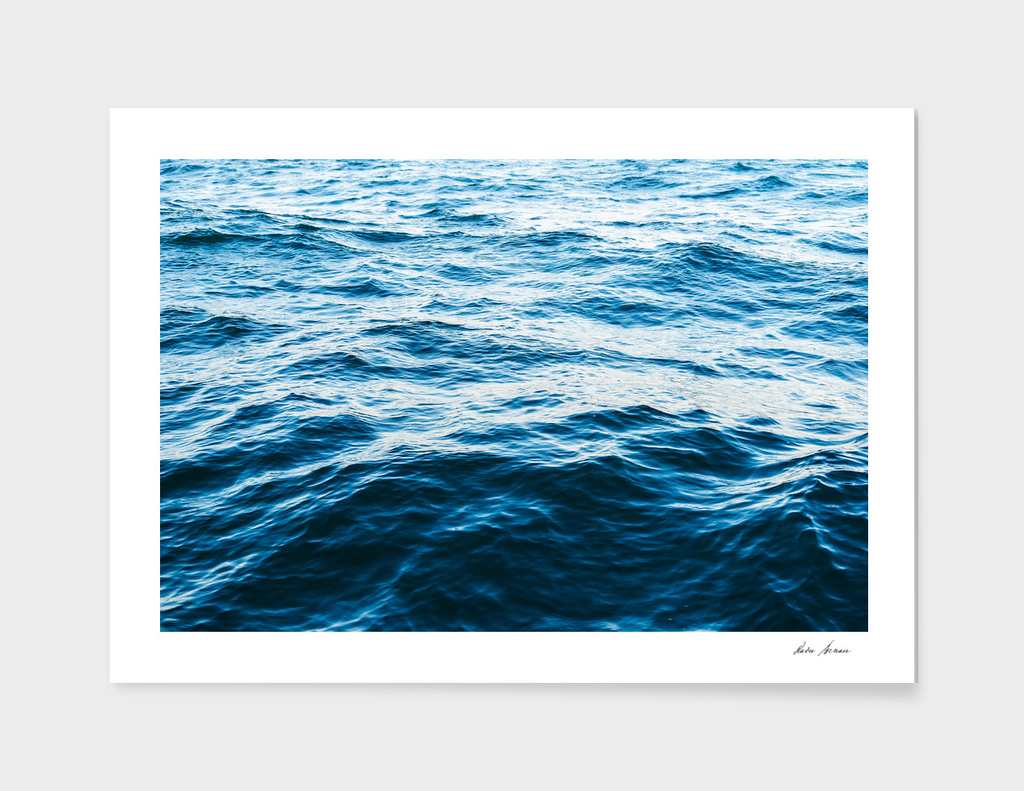 Ocean Waves Abstract