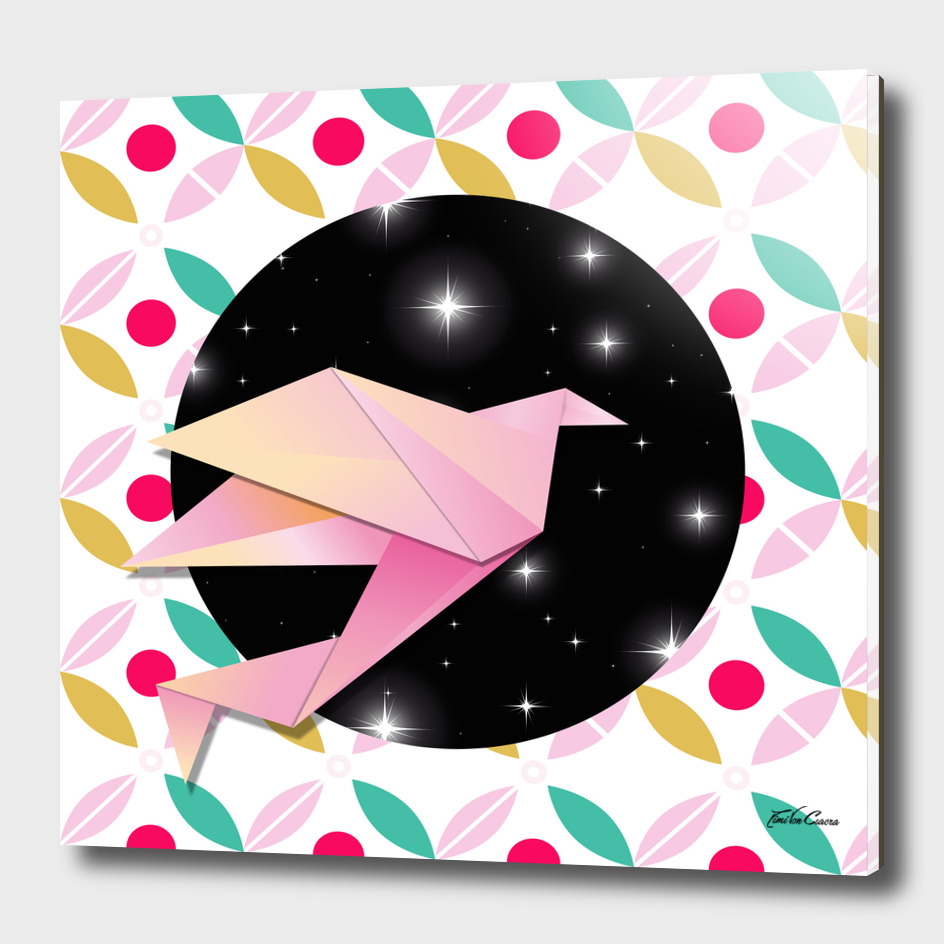grue origami crane