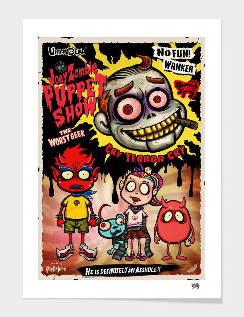 Urban Devil Joey Zombie Puppet Show