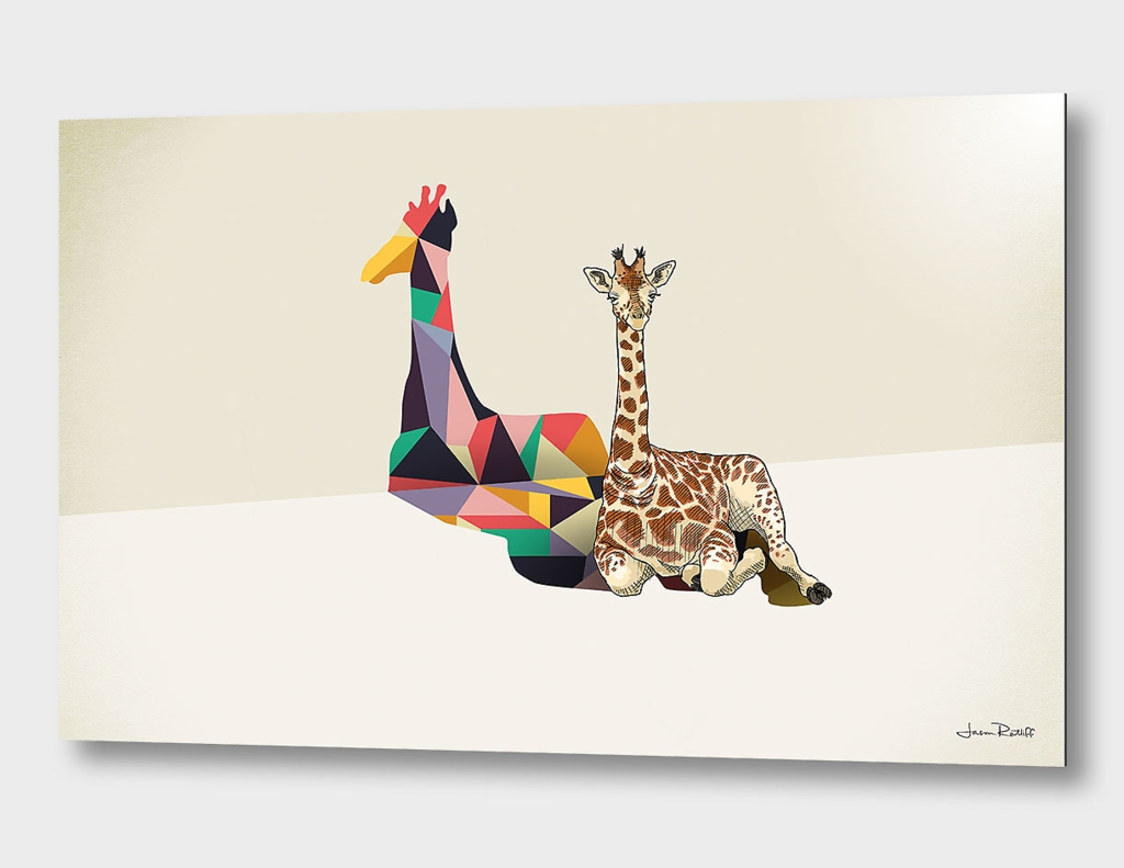 Walking Shadow, Giraffe