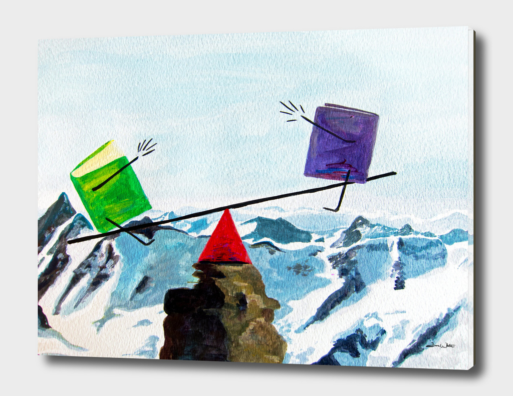 Balance the Books Curioos