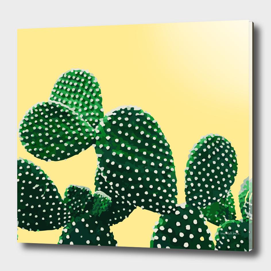 Cacti Plant (yellow)