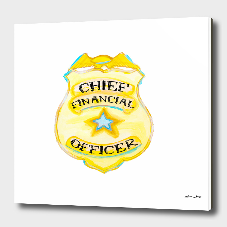 Chief Financial Officer Badge