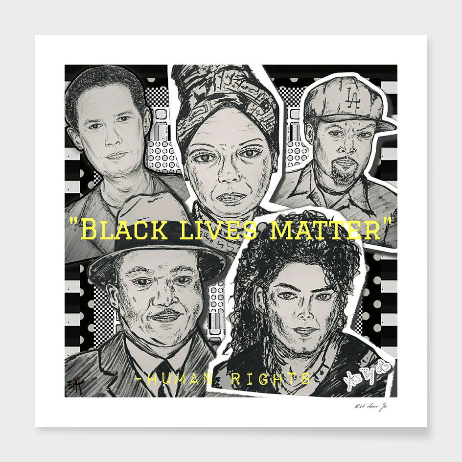 (Human Rights - Black Lives Matter) - yks by ofs珊