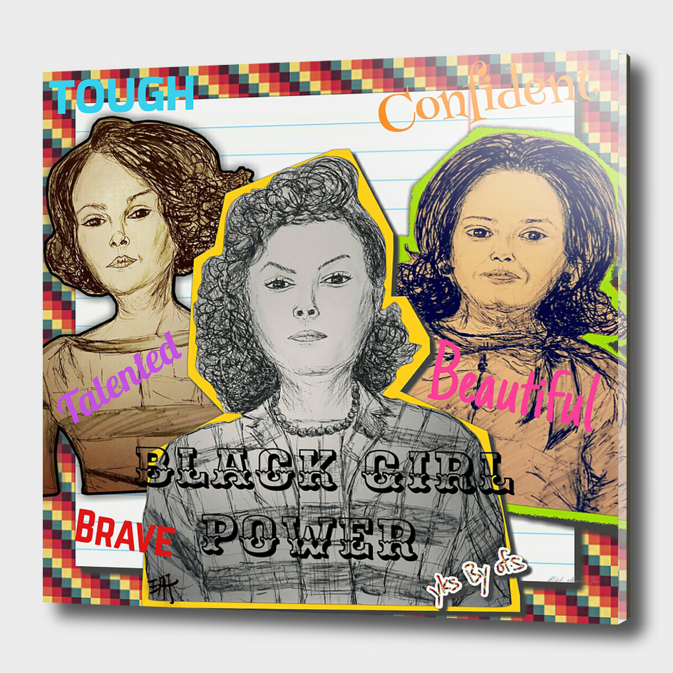 (Black Girl Power - Hidden Figures) - yks by ofs珊