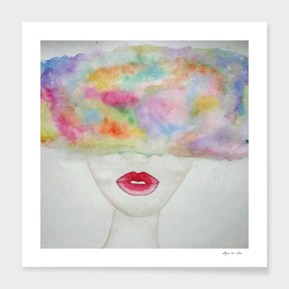 Lips rainbow