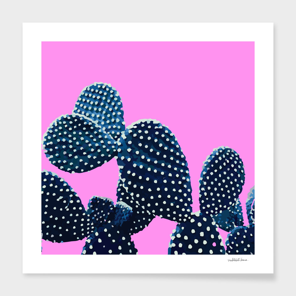 Cacti Plant ( purple )
