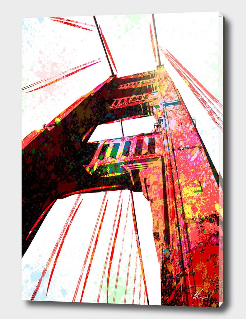 Golden Gate Bridge | Pop Art