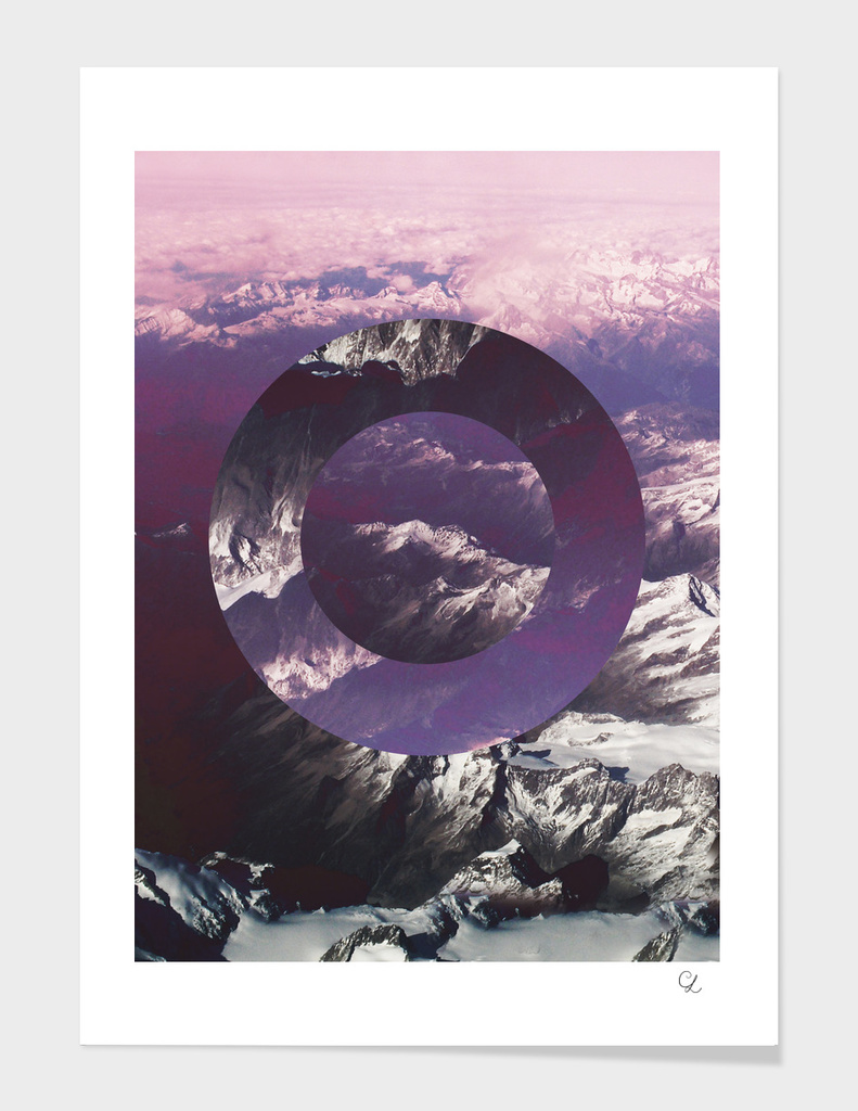Mountains and circles n.1