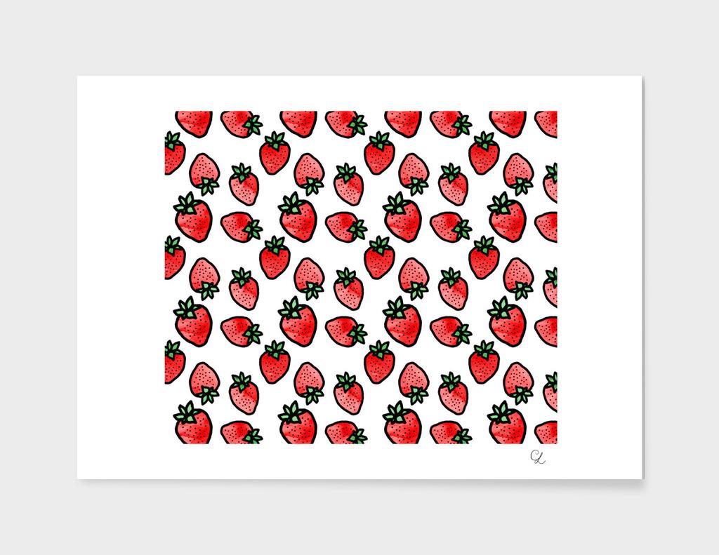 Strawberries pattern n.1