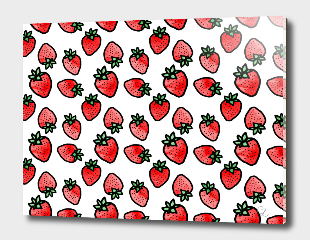 Strawberries pattern n.1