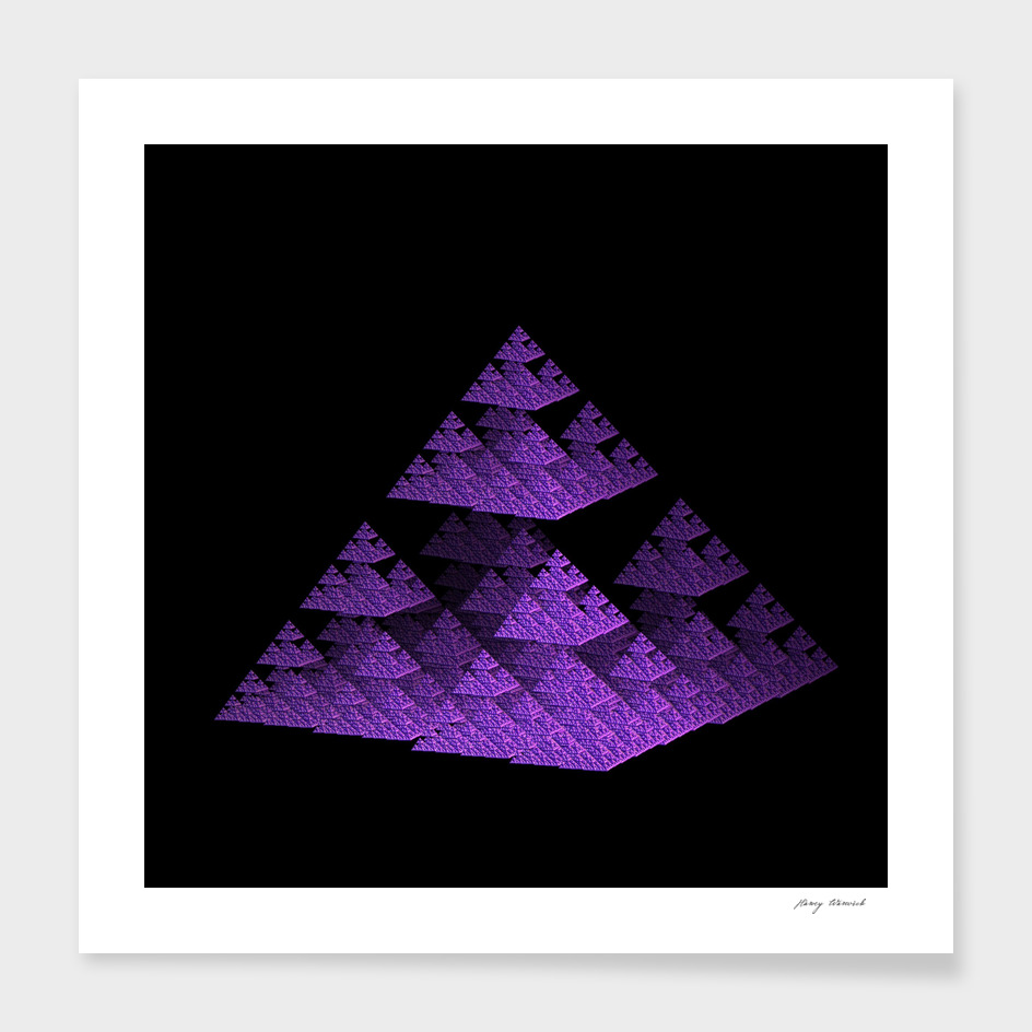 3D Fractal Pyramid