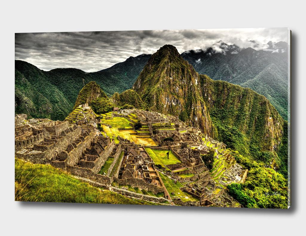 Machu Picchu Peru HDR Landscape