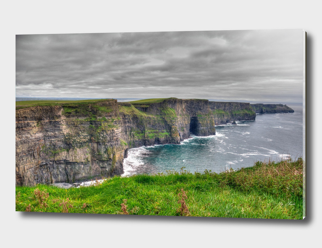 An Irish Landscape Taste. The cliffs of Moher