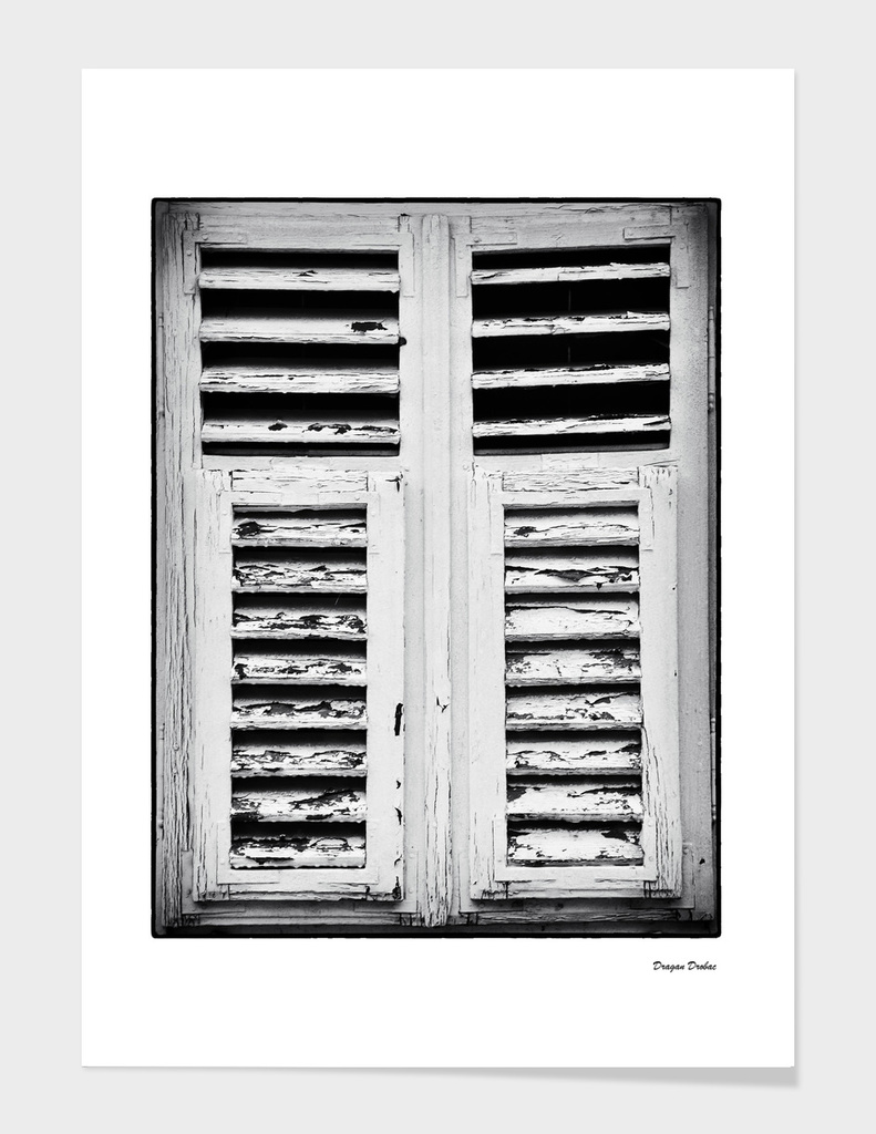 old shutters