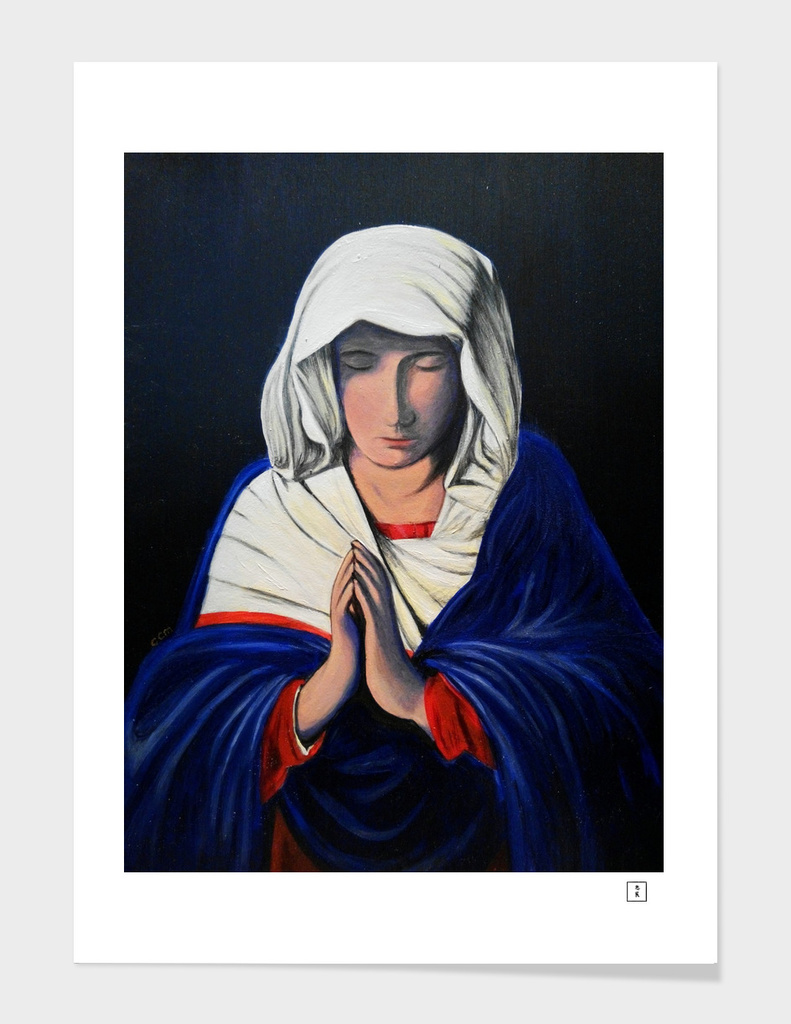 Prayer (after Giovanni Battista Salvi)