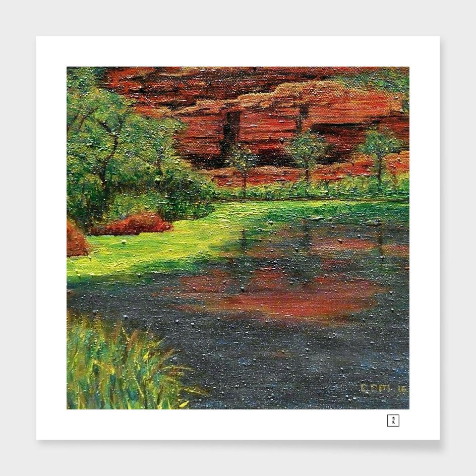 Oasis, (Dales Gorge, Western Australia)
