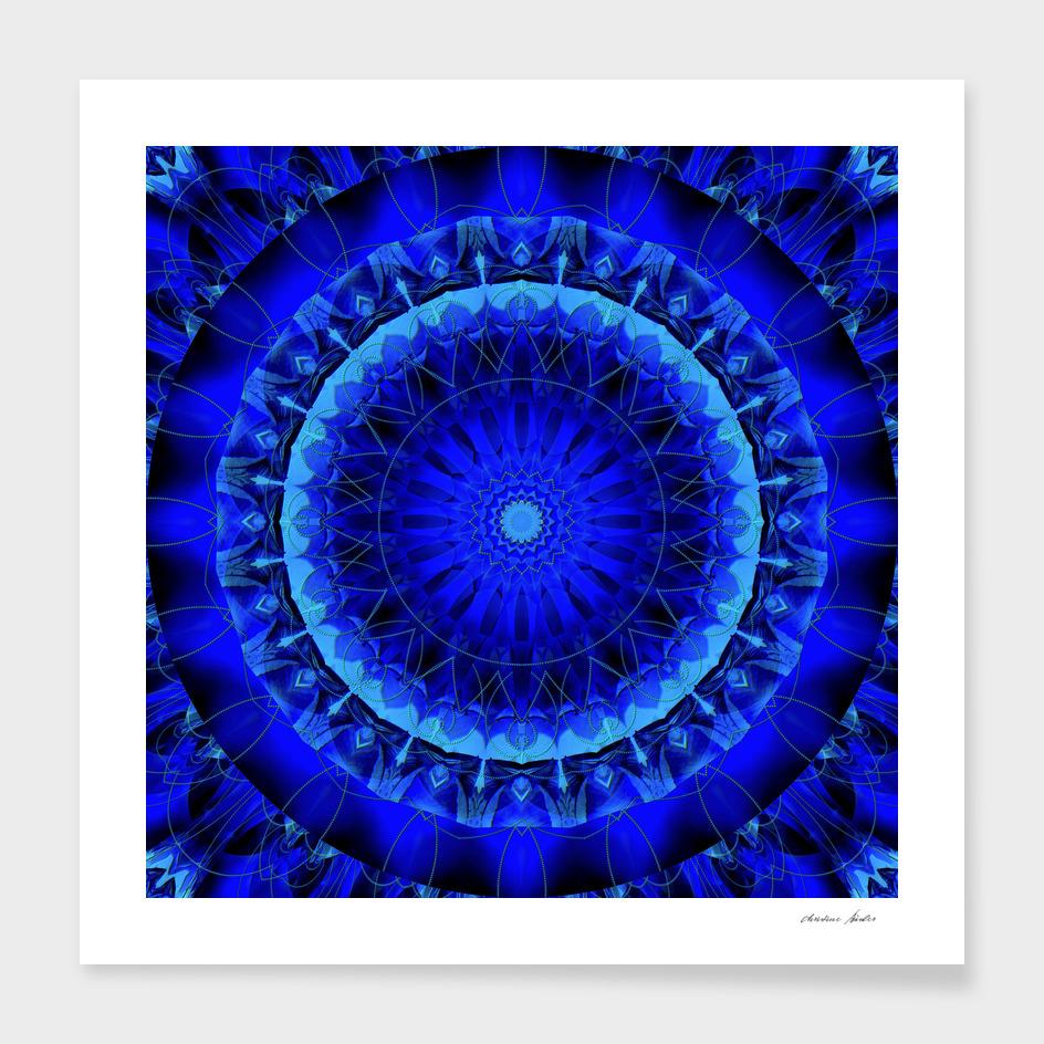 Mandala blue force