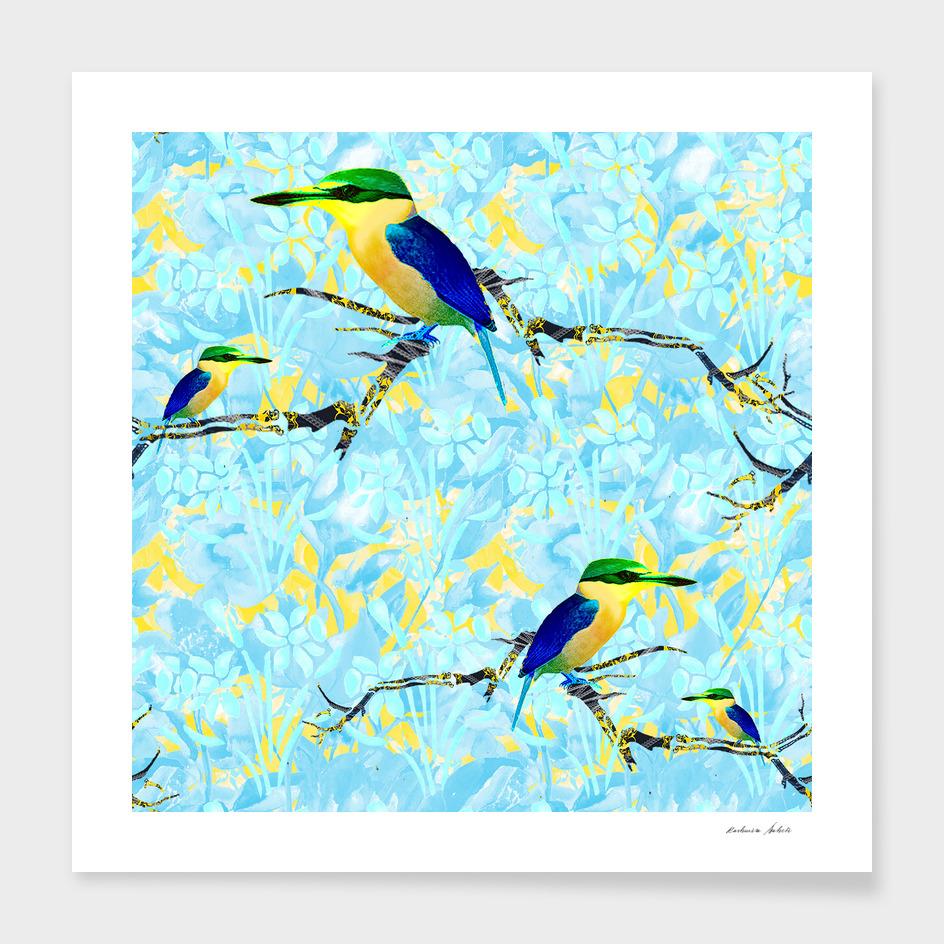 Cool kingfishers