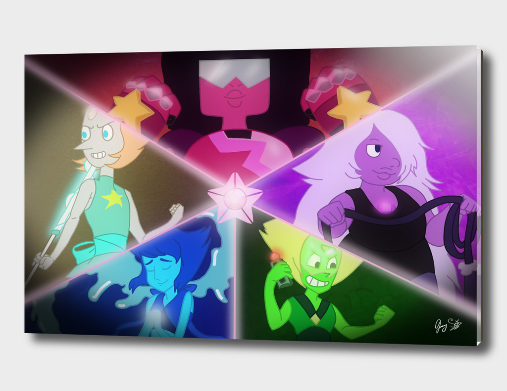 The United Crystal Gems