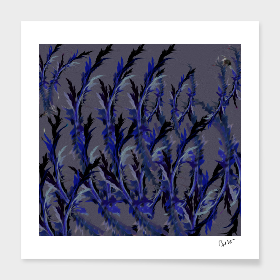 Flowering Branches (Blue series #1)