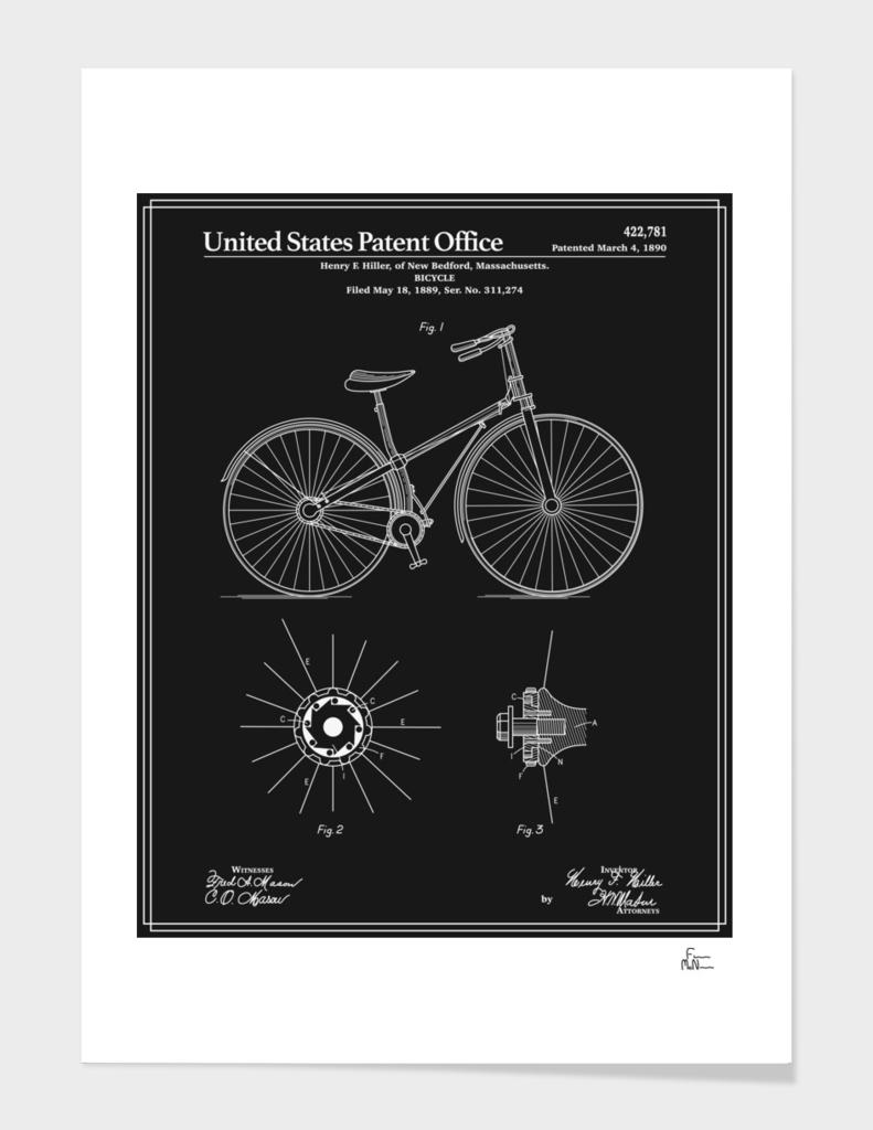 Bicycle Patent - Black