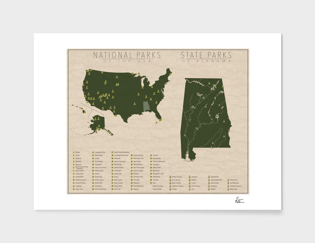 US National Parks - Alabama