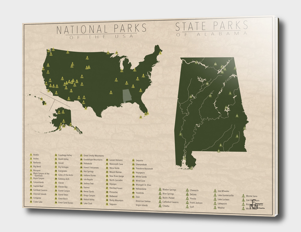 US National Parks - Alabama