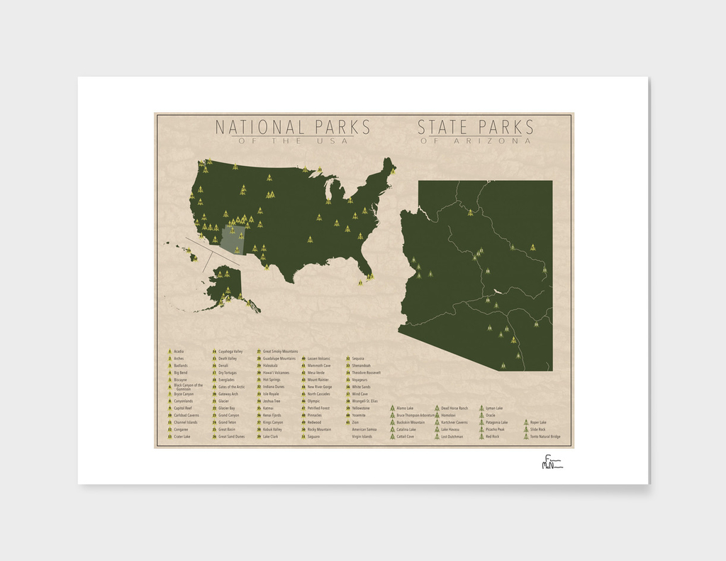 US National Parks - Arizona