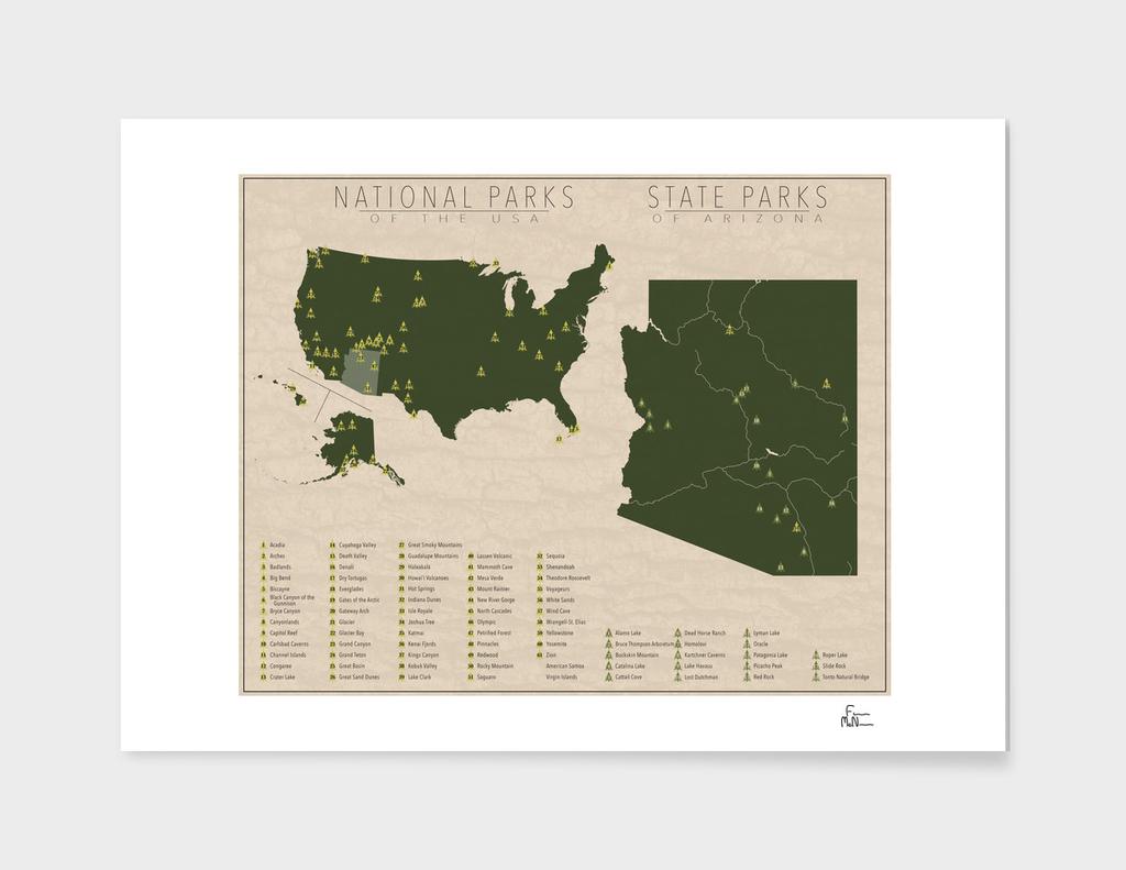 US National Parks - Arizona