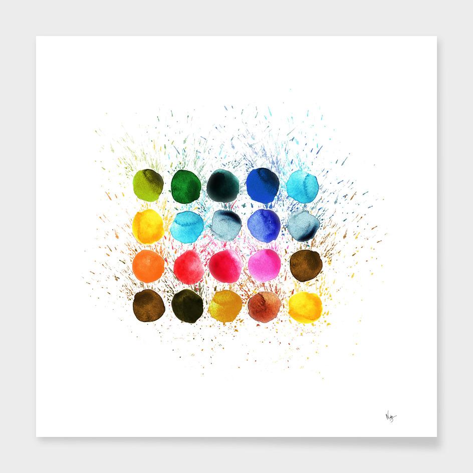 abstrac dots