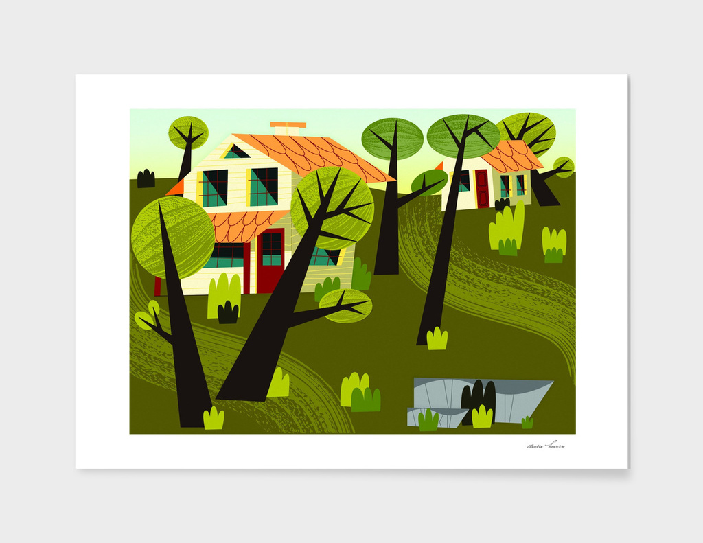 Houses In The Forest