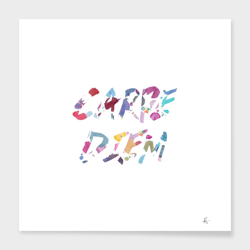 carpe diem color ink