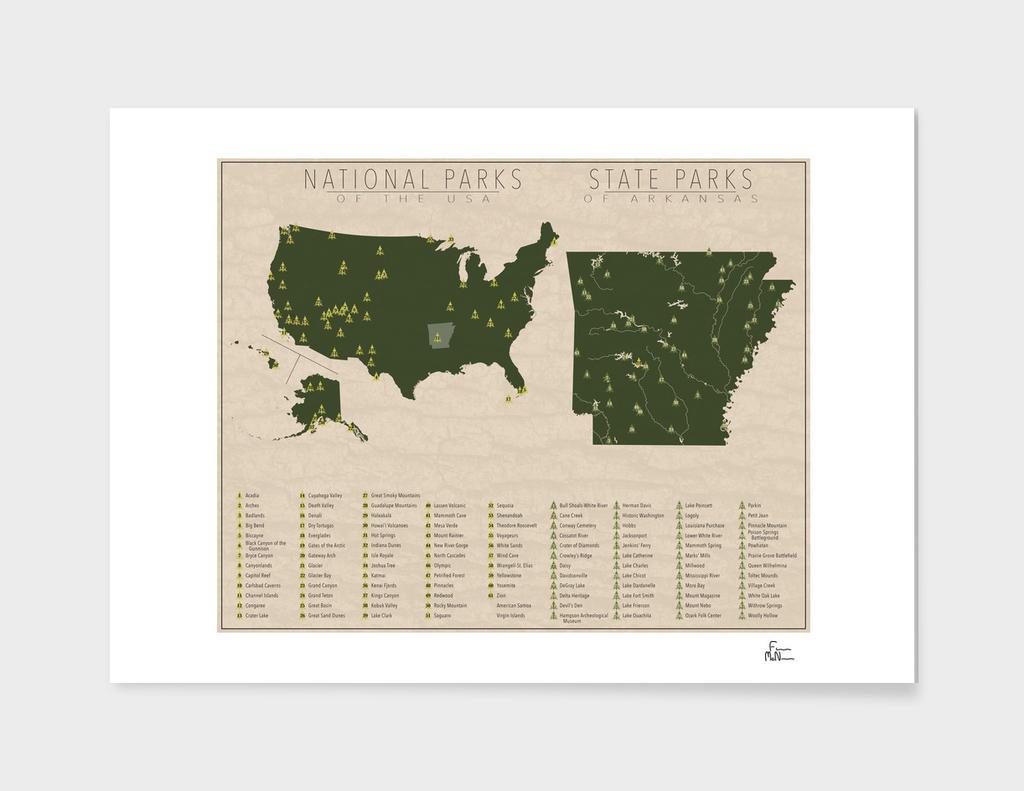 US National Parks - Arkansas