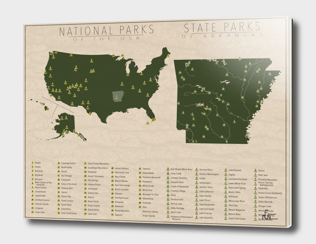 US National Parks - Arkansas