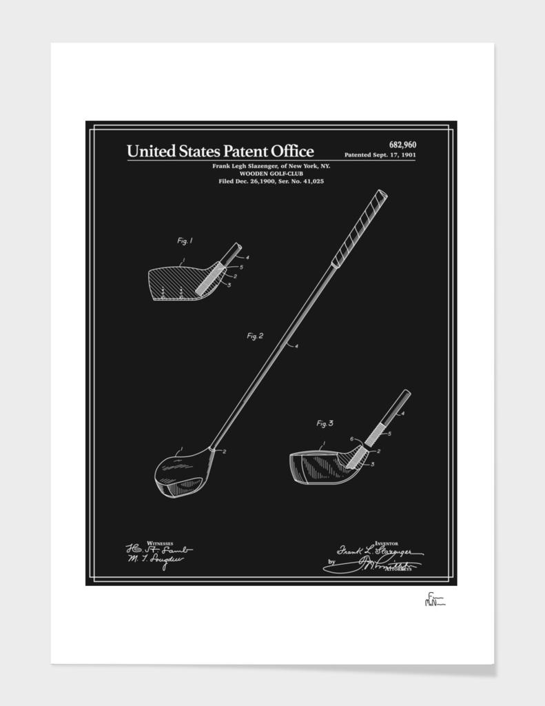 Golf Club Patent v2 - Black