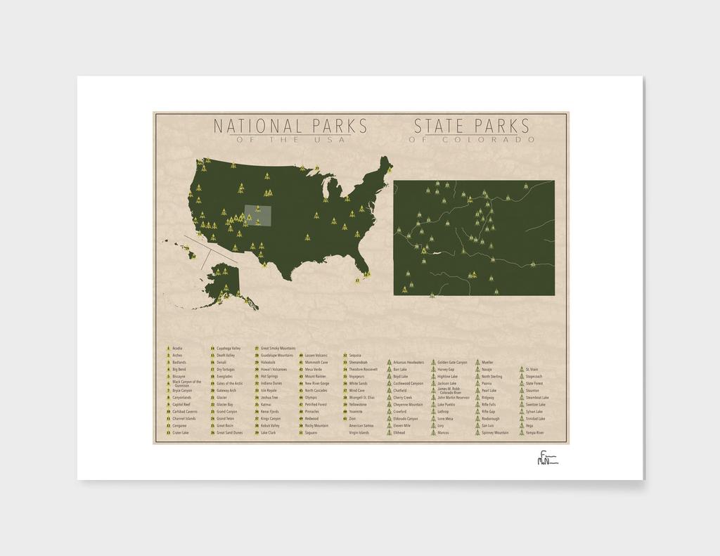 US National Parks - Colorado