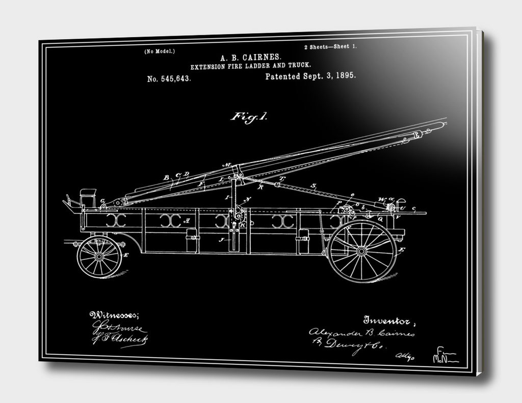 Firetruck Patent v2 - Black