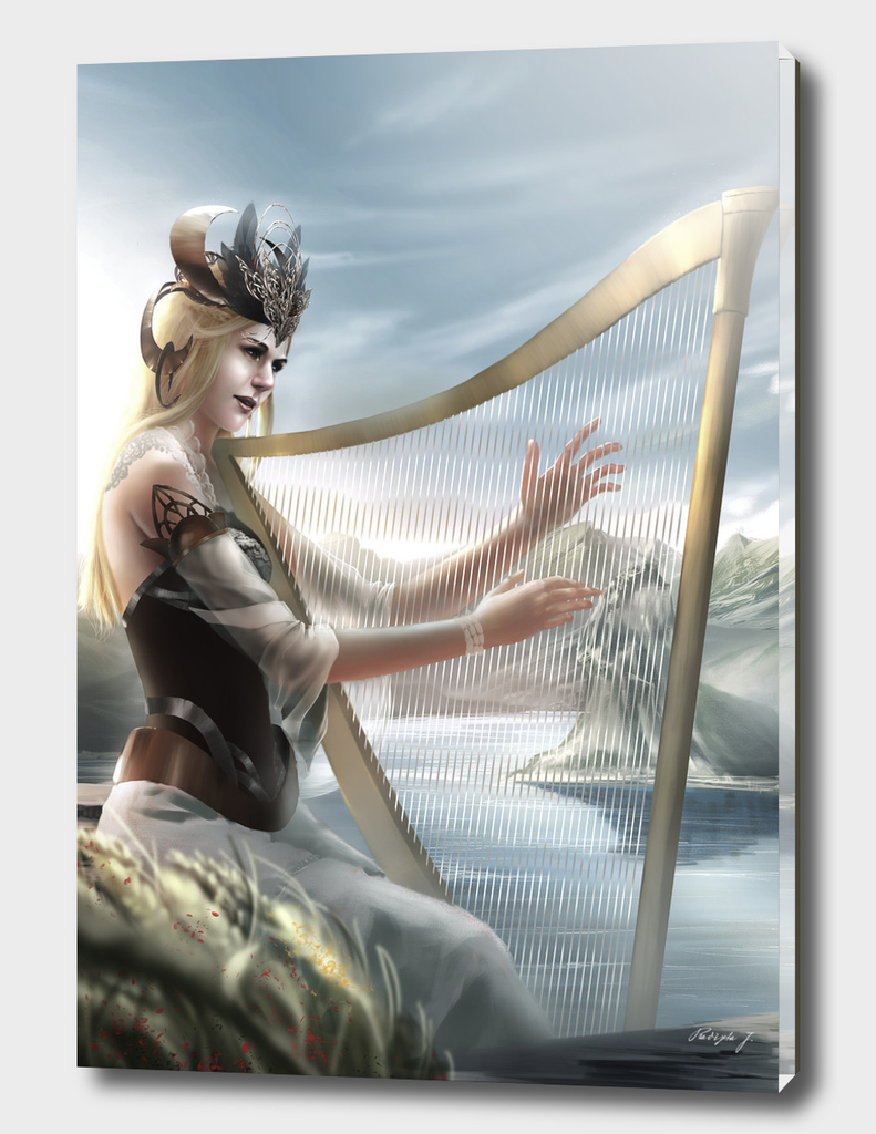 harp play