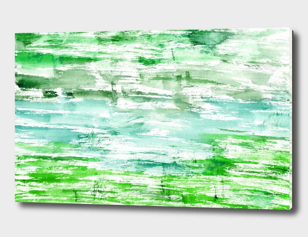 Greenery || watercolor