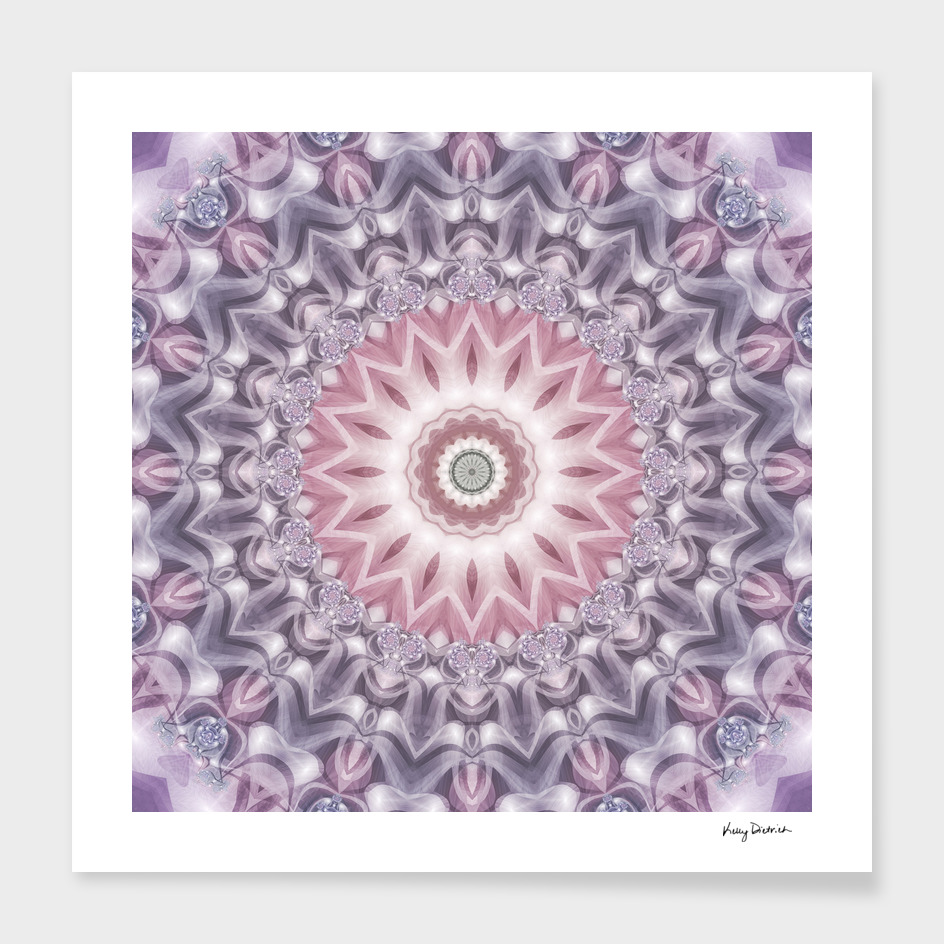 Ombre Purple Mandala